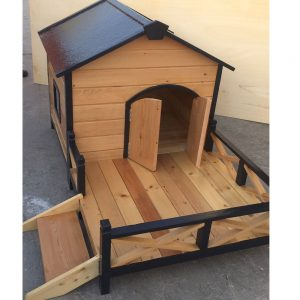 dog house with porch dubai uae