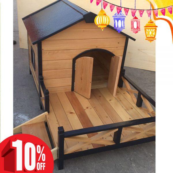 dog house with porch dubai uae