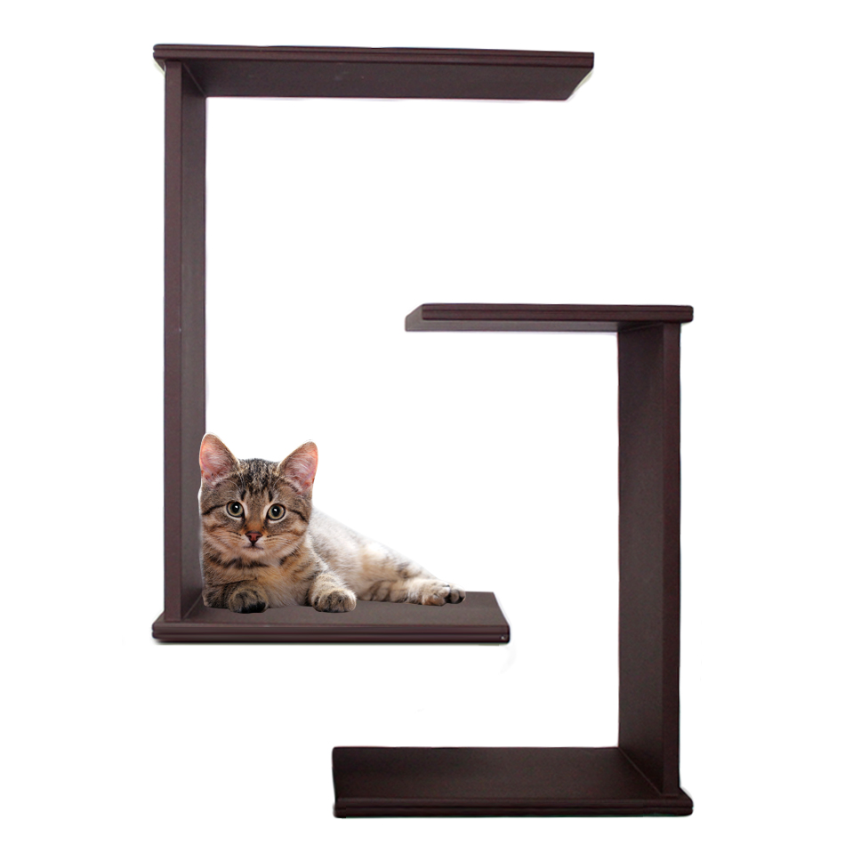 Buy online cat shelf in dubai uae cat mounts play for Bookshelf cat tower