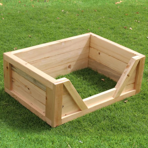 Wooden Dog Bed Frame Dubai