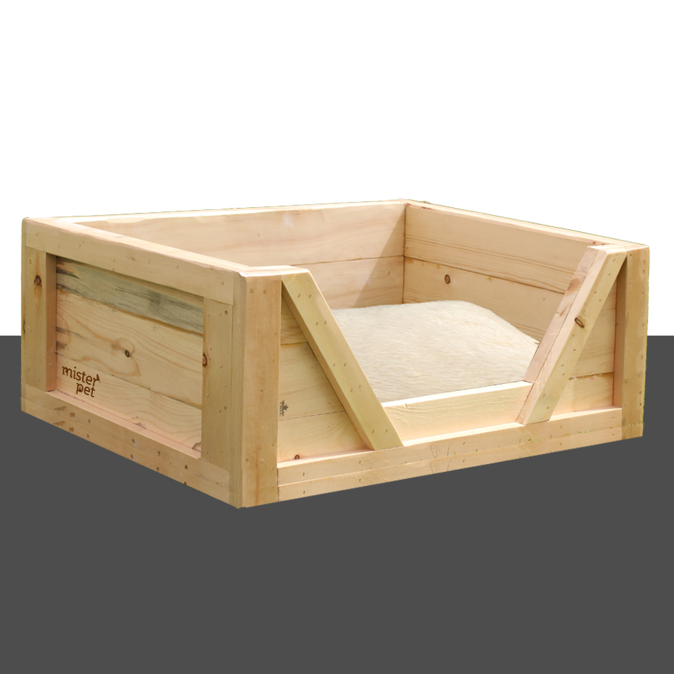 wooden dog bed frame in dubai - Dog Bed Frame
