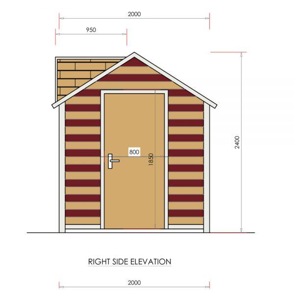 dubai dog house DH12001