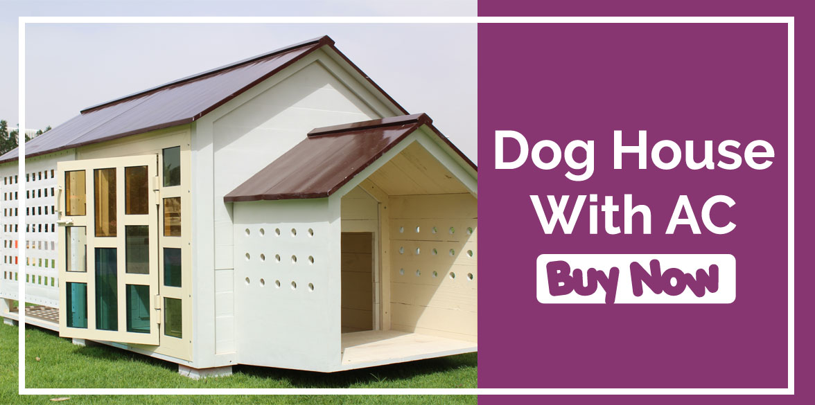 Dog House with AC
