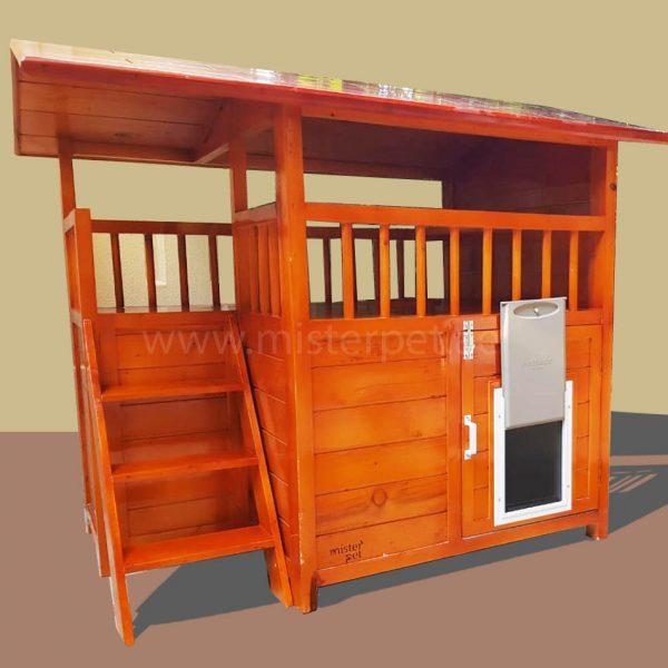 Wooden Dog House Abu Dhabi