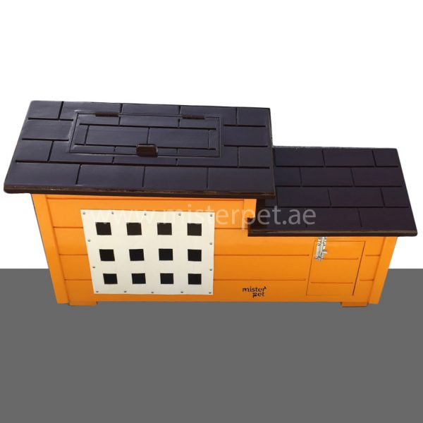 Small Wooden Cat House Outdoor
