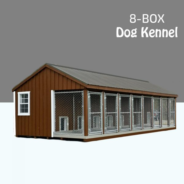 Dog Kennel 8 Dogs