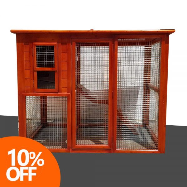 Cat House with Play Area